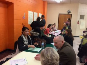 NJEA comes to MLK School #6 for World Cafe!!
